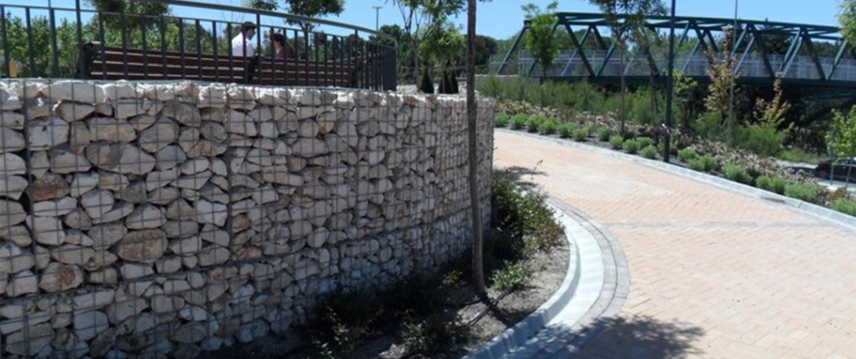 muro gaviones malaga