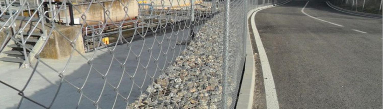 muros gaviones metalicos malaga